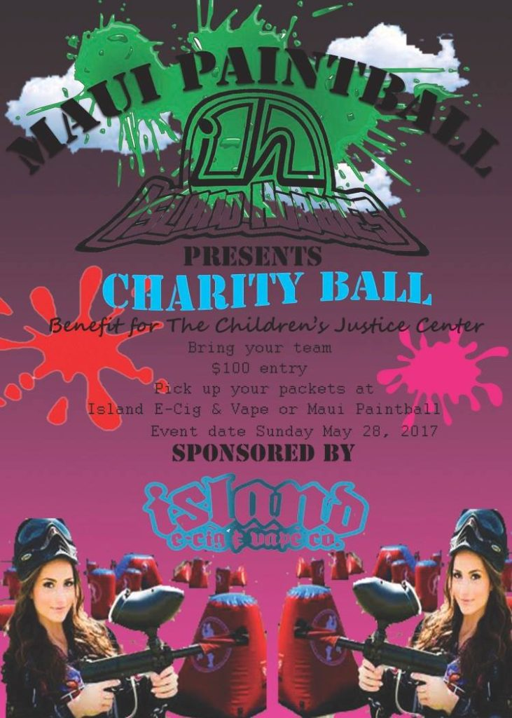 Charity paintBall May 28th!